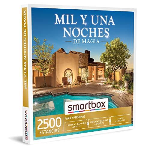 SMARTBOX - Caja Regalo - Mil y una Noches de Magia - Idea de Regalo - 1 Noche con Desayuno o 1 Noche con Desayuno y Aperitivo o Detalle para 2 Personas