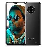 OUKITEL C19(2020) Smartphone ohne Vertrag, 6,49 Zoll 2GB+16GB Handy, 4000mAh Akku 13MP Quad Kamera, 4G Dual SIM Android 10, 256GB erweiterbar (Schwarz)