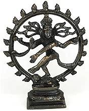 Sage Cauldron Large Antiqued Bronze Shiva Dancing Statue
