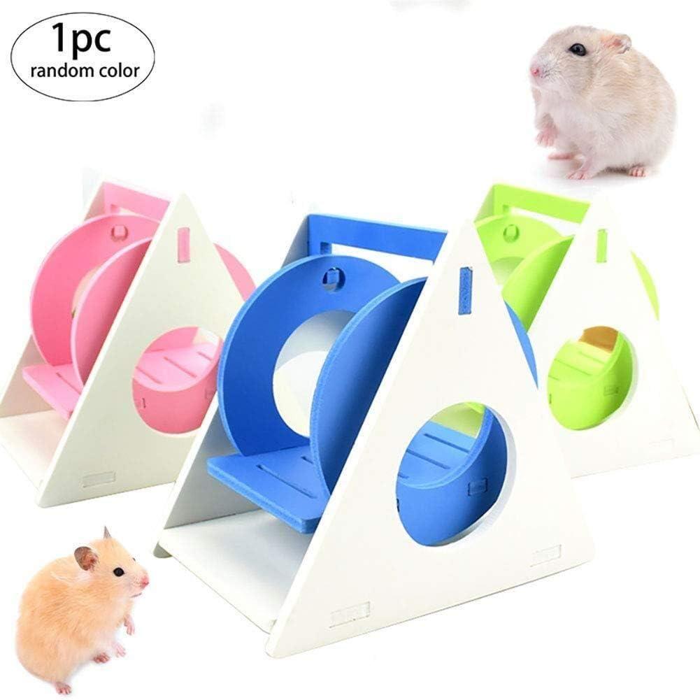 Random Ouken 1PC Hamster Hamster Swing escondite y Rata Escalera Subiendo peque/ños Juguetes del Animal Accesorios para Los jerbos Guinea Pig Chinchilla h/ámster Sirio