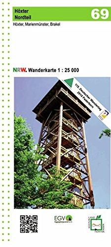 Höxter Nordteil Blatt 69 NRW Wanderkarte: 1:25.000 (Geo Map)