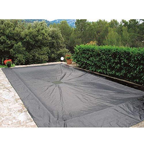 WerkaPro 07425 - Bâche de protection 5x9 m - Pour piscine rectangulaire - 140g/m2 - Marine