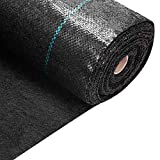 VIVOSUN 5oz/sy Weed Barrier Landscape Fabric, 3ft x 50ft Commercial...