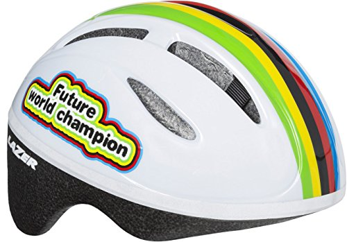 Lazer–Casco Infantil Bob Future World Champion, Patrón, Uni, fa003716037