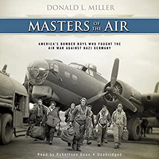 Masters of the Air audiobook cover art
