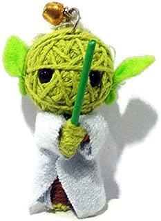 Anya Yoda Voodoo String Doll Key Chain Handmade Bangkok Size S 0.64 oz
