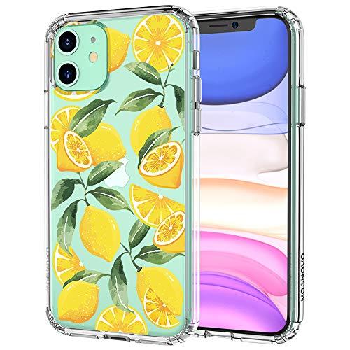 MOSNOVO iPhone 11 Hülle, Lemon Muster TPU Bumper mit Hart Plastik Hülle Durchsichtig Schutzhülle Transparent für iPhone 11 (2019) (Lemon)