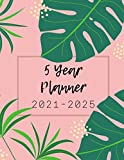 5 Year Planner 2021-2025 Monthly   8.5 x 11: Large Monthly Planner & Calendar, Five Year Appointment Calendar, Business Planners, Agenda Schedule ... (2021-2025 Monthly planner)  Pink Cover