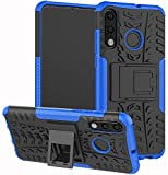 COMPATIBILITY : Fits only for Huawei P30 Lite HYBRID DEFENDER ARMOR PROTECTION: Rugged Dual layer design consisting of impact resistant polycarbonate outer shell and ballsitic shock absorbing inner silicone ensures solid protection to your device fro...