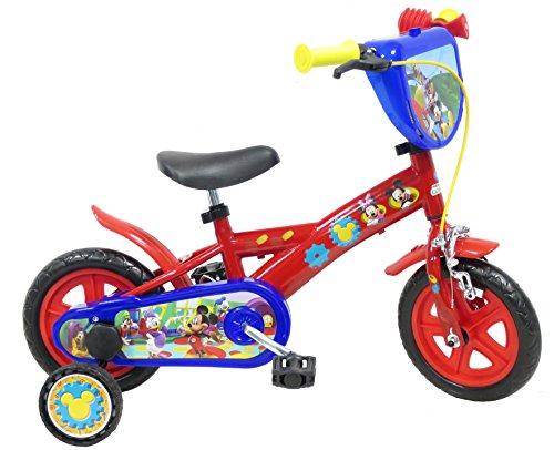 Disney 13193 Micky-Maus-Fahrrad mit Bremse, 10Zoll