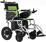 Yuzhonghua Mobili anziani invalidi, sedie a rotelle elettriche intelligenti, pieghevoli sedie a rotelle elettriche portatili e durevoli, anziani macchina in movimento, attrezzature registrazione allum