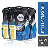 Veet For Men, Pelli Sensibili (Depilazione sotto la doccia, 3 confezioni da...