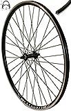 Redondo 28 Zoll Vorderrad Laufrad Fahrrad V-Profil Hohlkammer 28' Felge Schwarz