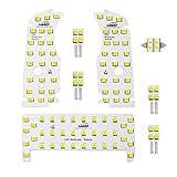 最高級LED使用 明るさ調節可能 TOYOTA トヨタ プリウス 30/40系 @ 【サンルーフ無し】専用設計 ルームランプ 【SMDタイプ】7点 フル セット 【2015.1月以前モデル】