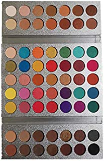 Beauty Glazed New Textured Eyeshadow Palette Pearlescent Matte Color Combination Full Color (63 Colors)
