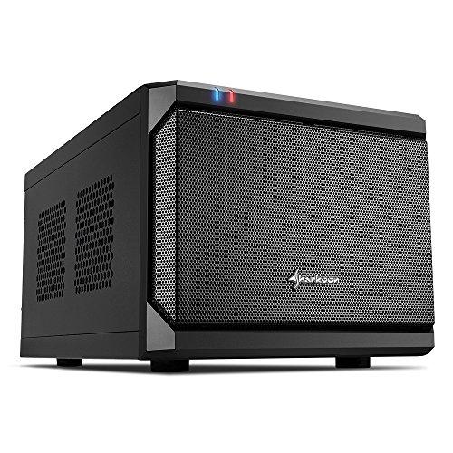 Sharkoon QB One PC-Gehäuse (Mini-ITX, 2X 2,5/3,5 interne, 2X USB 3.0/2.0)