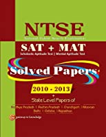 NTSE (SAT+MAT) Solved Paper 2010-2013 + State Level Paper