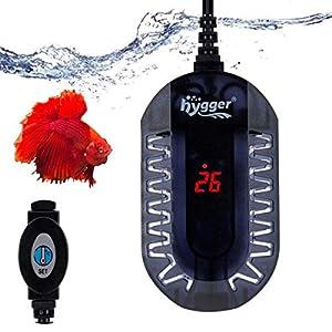 hygger Submersible Digital Aquarium Heater 50W, Betta Fish Tank Turtle Tank Heater with Intelligent LED Temp...
