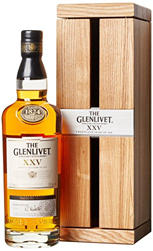 Glenlivet XXV 25 Years Old in Holzkiste (1 x 0.7 l)