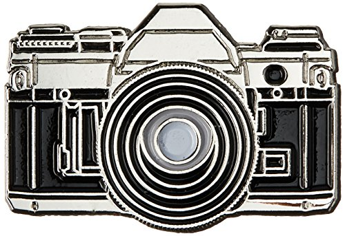 35mm Camera Enamel Pin