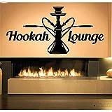 wandaufkleber weihnachten groß Sticker Shisha Hookah Decal Art Waterpipe House Cafe Smoke Shop