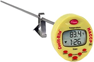 Cooper-Atkins TTM41-0-8 Cooling Thermometer HACCP with Adjustable Vessel Clip, 15