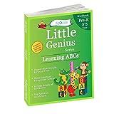 Learning ABCs: Pre Kindergarten Workbooks (Little Genius Series): Teaches Tracing, Strokes, Uppercase