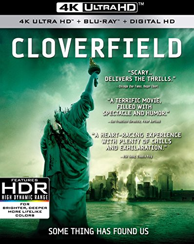 Cloverfield 4K UHD + Blu-ray + Digital  $9.96 at Amazon