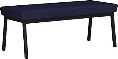 Amazon Com Boraam 36536 Shaker Bench Black Oak Table