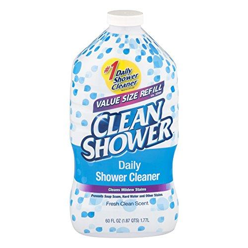 Scrub Free Clean Daily Shower Cleaner Refill, 60 Fl Oz (1)