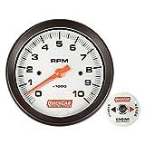 QuickCar Racing Products 611-6002 3-3/8' Diameter Tachometer Gauge