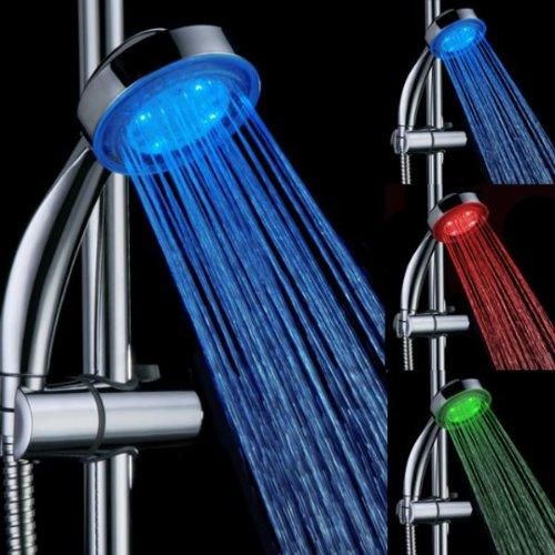 Homeself bagno 3colori a temperatura controllata LED Shower Head