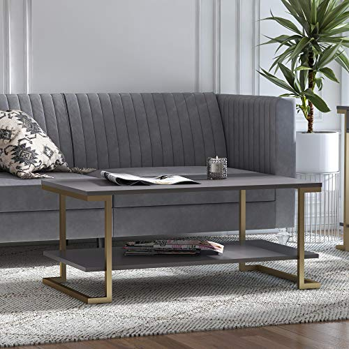Cosmoliving By Cosmopolitan Cosmoliving Juliette Top Silver Tempered Glass Coffee Table Accuweather Shop
