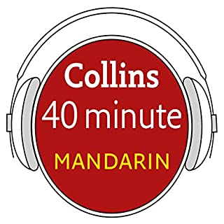 Mandarin in 40 Minutes audiobook cover art