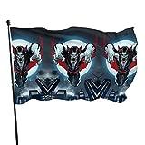 Morbius The Living Vampire Fahnen/Flagge/Gartenfahne/Dekorativer-Verf¨¹gbar In Allen Jahreszeiten?90 X 150 cm?.