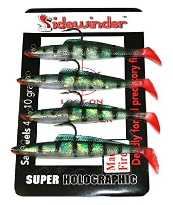 Sidewinder Sandeels Mackerel Fire Fishing Lures, Size - 4 inch from Kiddy Wholesale