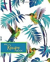 My Recipe Book: Hummingbird Blank Cookbook