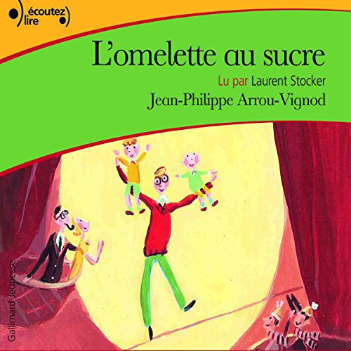 L'omelette au sucre audiobook cover art