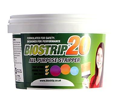 Foto di Biostrip Stripper 500ml, vernice Remover. Soluzione a base d' acqua per rimuovere senza sforzo vernici e da legno, mattoni, cemento, metallo, in UPVC, vetro e più