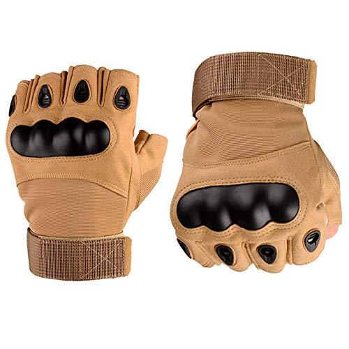 Guante táctico multifunción hombre – guantes al aire libre – Guantes de medio dedo guantes de moto…