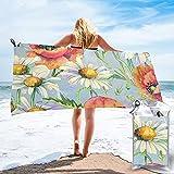mengmeng Toallas de secado rápido para deportes, gimnasio, viajes, yoga, camping, natación, súper absorbente, compacta, ligera, toalla de playa