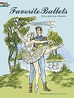 Favorite Ballets Coloring Book