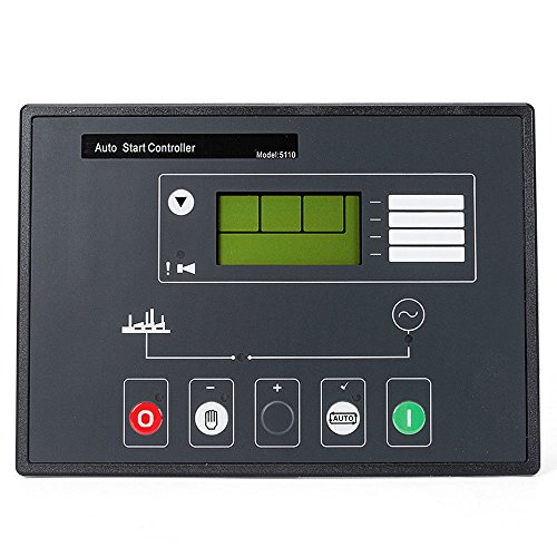 YOKDEN DSE5110 Generator Controller Control Module Panel Monitor Remote Auto Start Automatic Control Motor Star LCD Display DC 8-35V Complete Replacement for Deep Sea 5110