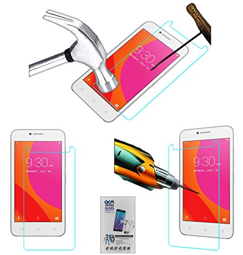 Acm Tempered Glass Screenguard Compatible with Lenovo Vibe B Screen Guard Scratch Protector