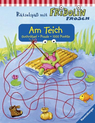 Am Teich: Suchrätsel, Puzzle, 1000 Punkte (Rätselspaß mit Fridolin Frosch)