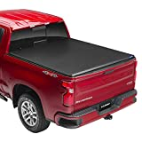 Lund Hard Tri-Fold, Hard Folding Truck Bed Tonneau Cover | 969453 | Fits 2005 - 2021 Nissan Frontier (with factory side bed rail caps only) 6' 1' Bed (73.3')