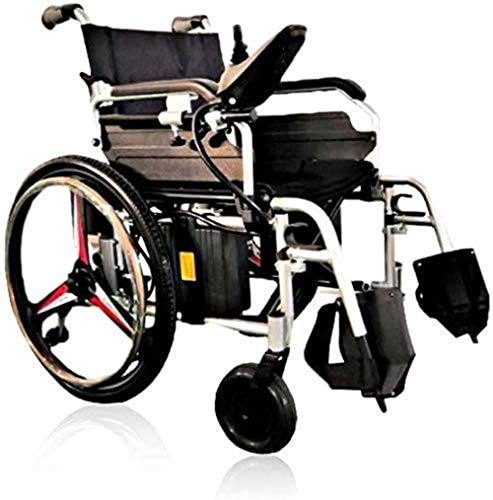 LTHDD Wheelchair Multi-Functional Wheelchair, Folding Portable Intelligent Electric Wheelchair, 360° Rotation, Suitable for: Elderly/Disabled