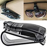 Zonman Auto Car Sun Car Visor Glasses Sunglasses Ticket Clip Holder Eyeglasses Clip Car Holder Cash Money Card Holder(One Package Two Pcs) (Style 01)