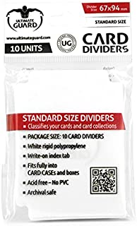 Ultimate Guard 10 White Card Dividers
