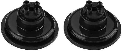 2PCS auto LED Copertura antipolvere faro tappo antipolvere impermeabile antipolvere silicone Seal Unversal tappo anti-polvere per LED auto lampadine